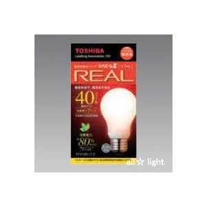 ☆東芝 電球形蛍光ランプ(蛍光灯) ネオボールZ リアル 40W形 A形 3波長形電球色 E26口金 EFA10EL/7-Z|alllight