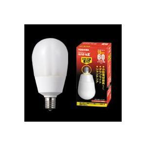 ☆東芝 電球形蛍光ランプ(蛍光灯) ネオボールZ 60W形 A形 3波長形電球色 E17口金 EFA15EL/13-E17|alllight