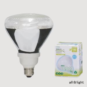 ☆オーム電機 電球形蛍光灯 レフランプ形 エコデンキュウ スパイラル形 100W形 3波長形昼光色 E26口金 EFR25ED/22 (04-3271)|alllight