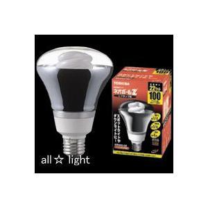 ☆東芝 電球形蛍光ランプ(蛍光灯) ネオボールZ レフランプ形 100W形 3波長形電球色 E26口金 EFR25EL/22|alllight