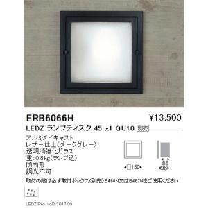 ☆ENDO LEDアウトドアブラケット LEDZランプディスク45用 ダークグレー 白熱電球30W形相当 防雨形 ERB6066H(ランプ別売)|alllight