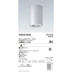 ☆ENDO LED軒下用シーリングダウンライト 防雨形 電球色3000K 広角 非調光 FHT24W相当 ERG5018SB(ランプ付)|alllight
