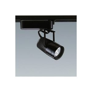 ☆ENDO LEDスポットライト ダクトレール用 JR12V35W相当 黒 33° 電球色 ERS3247B (ランプ付)|alllight