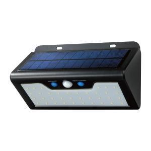☆ELPA LEDセンサーウォールライト ソーラー発電式 屋外用 防水仕様IP65 常夜灯モード搭載...