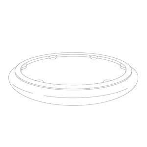 パナソニック 補修用カバー HH−CD0823A用カバー シーリングライト用 HKHCD0823A01 alllight