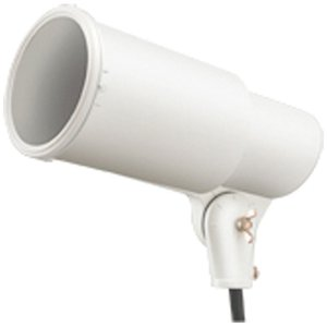 ☆岩崎 HS形アイランプホルダ(投光器) 屋外用 フードなし 反射形HIDランプ用 E39 白色(ホワイト) 口出線0.2m HS0/W alllight