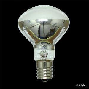 ☆TOKI ミニクリプトン Rタイプ(屋内用) ホワイト 直径50mm 50W形 E17口金 KR100/110V45WR50K alllight