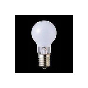 ☆東芝 ミニクリプトン ホワイト 60W形 E17口金 PSタイプ KR110V54WW|alllight