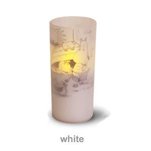 ディクラッセ LEDキャンドル クオーレ ムーミン Cuore moomin ホワイト LA5386WHの商品画像|ナビ