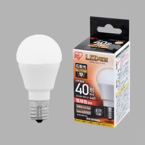 ☆アイリスオーヤマ エコハイルクス LED電球 小形電球形 小形電球40形相当 全光束440lm 電球色相当 E17口金 広配光タイプ LDA4L-G-E17-4T5|alllight
