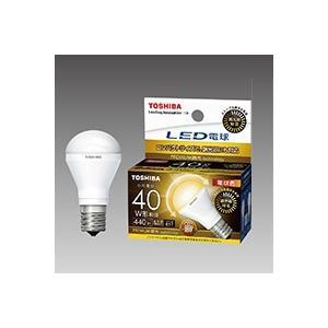 ☆東芝 LED電球 ミニクリプトン形 調光器対応 電球色 E17口金 ミニクリプトン電球40W形相当 断熱材施工器具対応 密閉器具対応 LDA5L-G-E17/S/D40W|alllight