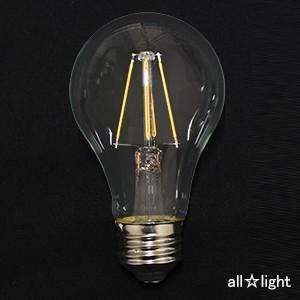 ☆アイリスオーヤマ LEDフィラメント電球 一般電球形 クリアタイプ 一般電球60形相当 電球色 E26口金 LDA7L-G-FC alllight