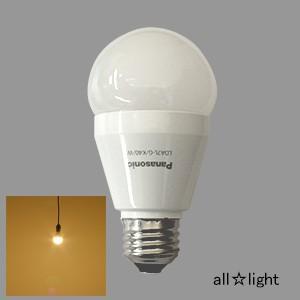☆パナソニック LED電球 一般電球タイプ 6.6W E26口金 電球色相当 40W形相当 485lm 密閉器具対応 LDA7L-G/K40/W A≪特別限定セール!≫≪あすつく対応商品≫|alllight