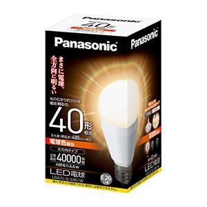 ☆パナソニック LED電球 EVERLEDS 一般電球タイプ 6.6W 全方向タイプ E26口金 電球色相当 電球40W形相当 485lm ≪特別限定セール!≫ ≪あすつく対応商品≫
