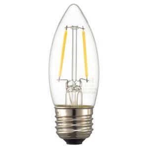 ☆オーム電機 LEDフィラメントタイプ電球 シャンデリア球形 クリアタイプ シャンデリア球25W相当 電球色 E26口金 LDC2L C6(06-3468) alllight