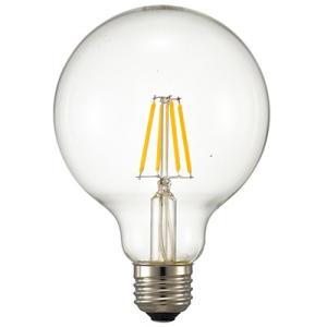 ☆オーム電機 LEDフィラメントタイプ電球 ボール球形 クリアタイプ ボール球60W相当 電球色 E26口金  LDG5L C6(06-3478) alllight