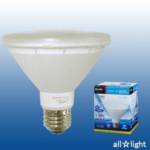 ☆ELPA エルパボール LED電球 ビームランプタイプ 8.0W 昼光色相当 E26口金 600lm 屋内・屋外兼用 外径97mm LDR8D-W-G054|alllight