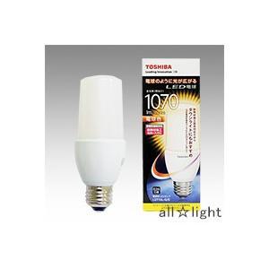 ☆東芝 E−CORE LED電球 T形 断熱材施工器具対応 電球色 E26口金 全光束1,070lm 器具光束白熱電球100W形相当 密閉器具対応 LDT10L-G/S alllight