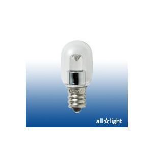 ☆ELPA エルパボール LED電球 LED装飾電球 ナツメタイプ クリア(透明) 0.5W 電球色相当 E12口金 15lm LDT1CL-G-E12-G106|alllight