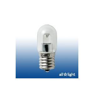 ☆ELPA エルパボール LED電球 LED装飾電球 ナツメタイプ クリア(透明) 0.8W 電球色相当 E17口金 35lm LDT1CL-G-E17-G116|alllight