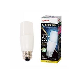 ☆東芝 LED電球 T形 全方向タイプ 昼白色 E26口金 全光束810lm 60W形相当 断熱材施工器具対応 LDT6N-G/S/60W|alllight
