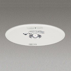 ☆東芝 LED非常用照明器具 埋込形 専用形 Φ150 低天井用 13形(JB3.6V13W相当) 常時消灯/非常時LED点灯 LEDEM13621N alllight