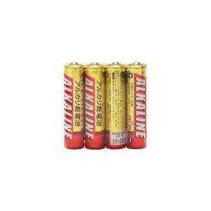 ☆三菱 アルカリ乾電池 アルカリ単4電池 [4個入り] LR03R/4S alllight