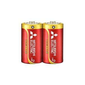 ☆三菱 アルカリ乾電池G アルカリ単2電池 [2個入り] L...