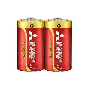 ☆三菱 アルカリ乾電池G アルカリ単1電池 [2個入り] LR20GD/2S alllight