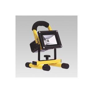 ☆TES LIGHTING LED handy floodlight 10Wタイプ 充電式LED投光器 防滴仕様 色温度:6500K 全光束:540lm LS-DL-4014YJ-10W(6500K)|alllight