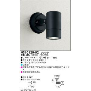 ☆MAXRAY スポットライト ブラック E11口金用 ランプ別売 MS10120-02|alllight