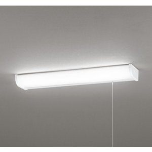 ODELIC LEDキッチンライト FL20W相当 昼白色 消費電力9.2W 壁面・棚下面取付兼用 LED一体型 100V用 ひもスイッチ付 OB255232|alllight