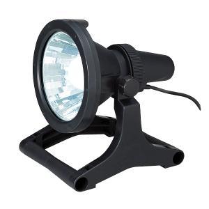 ☆ジェフコム 投光器型作業灯 投光Fライト(LED型)スタンドタイプ 屋内用 ランプ付 680lm 昼光色 PDF-8LEDS-BK|alllight