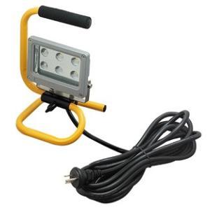☆ジェフコム 投光器型作業灯 LED投光器 スタンド型 6Wタイプ 完全防雨・防湿・防塵 屋外用(IP65) 390lm 白熱電球40W相当 昼光色 PDS-0106S|alllight