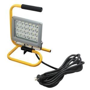 ☆ジェフコム 投光器型作業灯 LED投光器 スタンド型 24Wタイプ 完全防雨・防湿・防塵 屋外用(IP65) 1540lm 白熱電球100W相当 昼光色 PDS-0124S|alllight