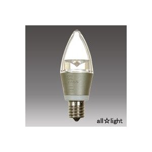 ☆ENDO LEDZ LAMP LED電球 シャンデリア電球形 クリア 電球色タイプ シャンデリア電球40W相当 5W E17口金 440lm RAD425L(LDC5L-E17/C/S)|alllight