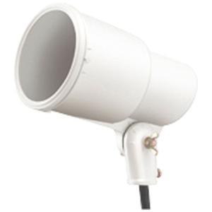 ☆岩崎 S形アイランプホルダ(投光器) 屋外用 フードなし レフランプ・セルフバラスト水銀ランプ用 E39 白色(ホワイト) 口出線0.2m S0/W|alllight