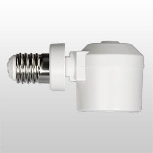 ヤザワ LED電球専用可変式ソケット E17⇒E26口金 SF1726V|alllight