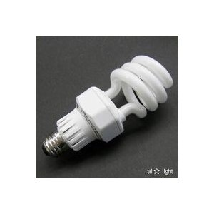 ☆★ 輸入フルスペクトルランプ 電球型蛍光灯 スパイラルライト 20W E26口金 5500K SP-55 alllight