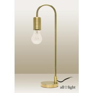 Sunyow アンティーク調テーブルスタンド ムーンランプ 真鍮 E26口金 40W一般電球対応 (ランプ別売) TM-T03|alllight
