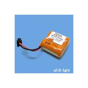 ☆パナソニック ホーム保安灯用ニッケル水素電池 2.4V 350mA WH9905P|alllight