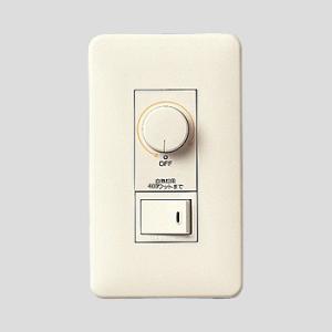 ☆パナソニック フルカラー配線器具 ムードスイッチB(片切) プレート付 白熱灯用 別回路用スイッチ付 ロータリー式 400W WNP575143|alllight