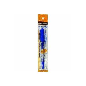 シモジマ マーカー サインペン P−MO−120−MC−BL マッキー極細 青 1本×1セットの商品画像|ナビ