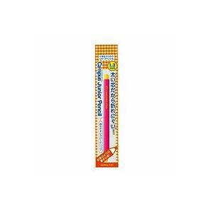 小学生のための、鉛筆感覚で書くことができる六角軸シャープペンシル●軸色/ピンク●芯径/1.3mm●外...