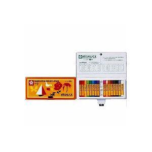 サクラクレパス クレパス太巻16色(ソフトケース入り) LP16S/メール便送料無料