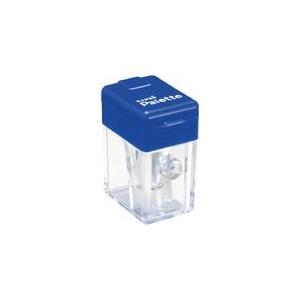 三菱鉛筆 ユニパレット ポケットシャープナー PLT 青 DPS101PLT.33/メール便送料無料|allmail