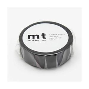 カモ井加工紙 マスキングテープ マットブラック MT01P207の商品画像 ナビ