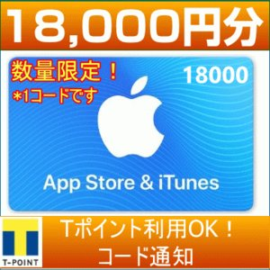 iTunes Card アイチューンズカード 5,000円分 [Eメール通知専用]  Apple プ...