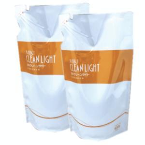 ミキクリーンライト 詰替2個セット 洗濯用液体洗剤 alnet-shop