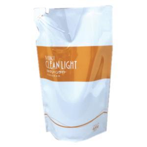 ミキクリーンライト 詰替え用 400g 洗濯用液体洗剤 alnet-shop